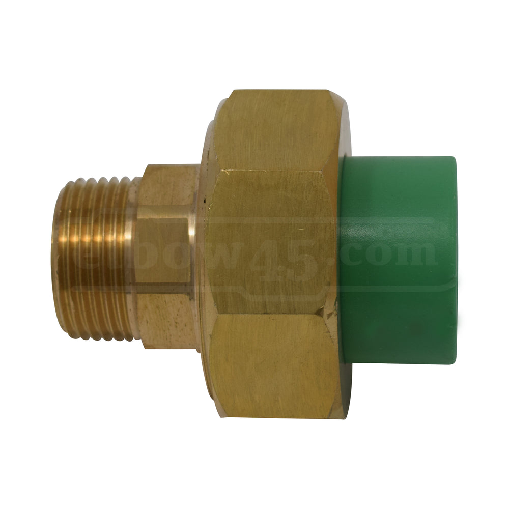 brass male union ppr KTP™
