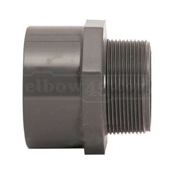 male adaptor pvc sch80