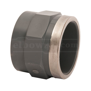 Adaptor female Socket UPVC PN16