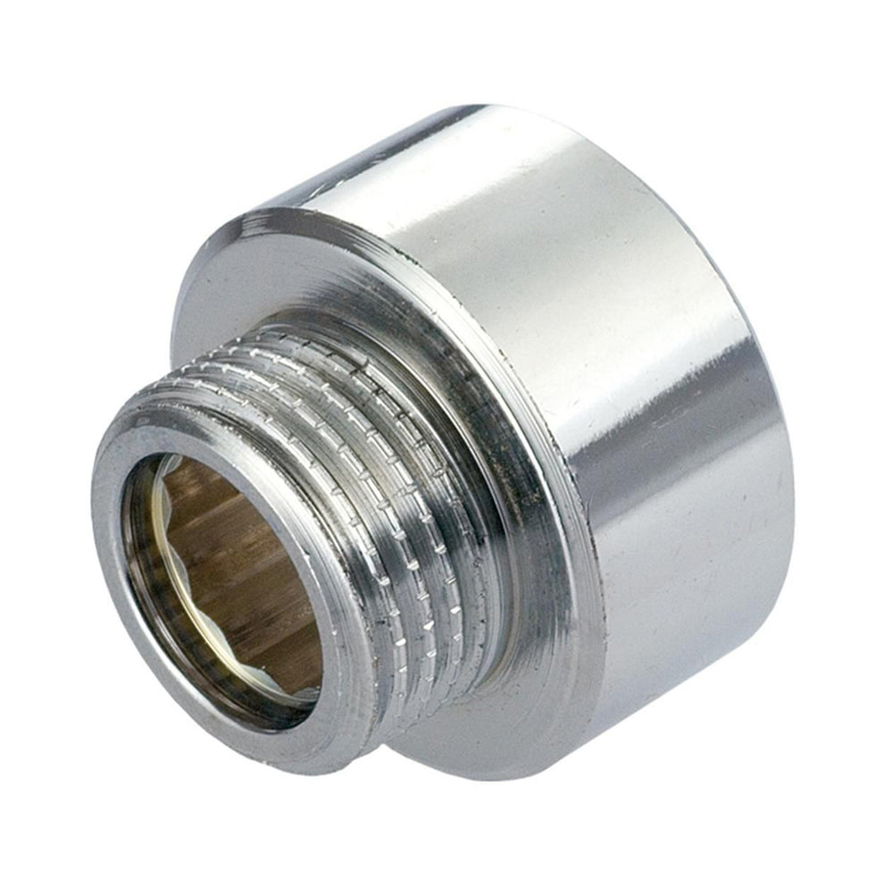 chrome male adapter 1/2""