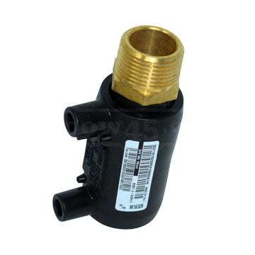 electrofusion transition male socket brass