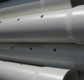 sappco upvc perforated pipe
