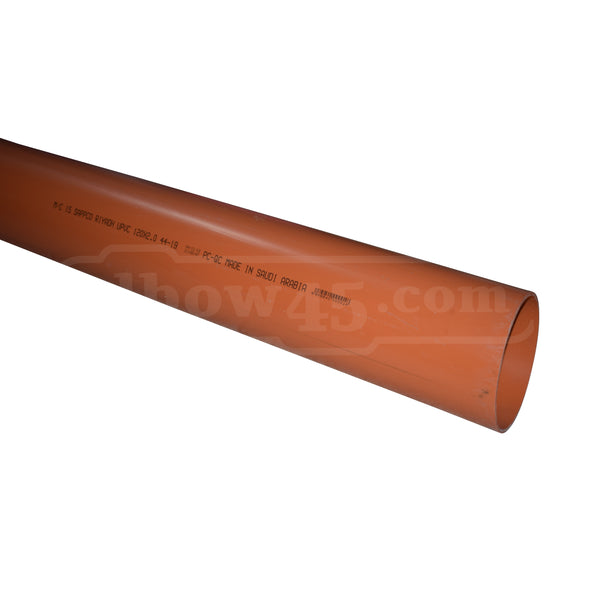 sappco pipe 120mm orange 2m - elbow45.com