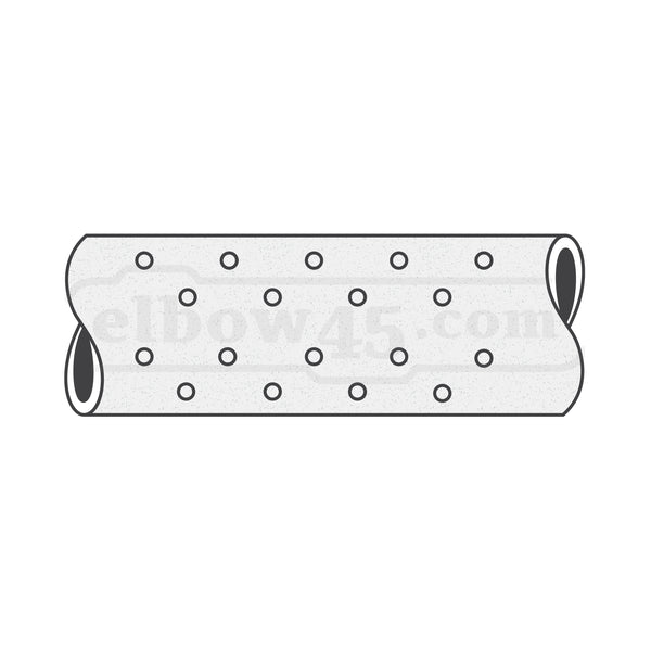 SAPPCO™ UPVC Perforated Pipe Class4 - elbow45.com