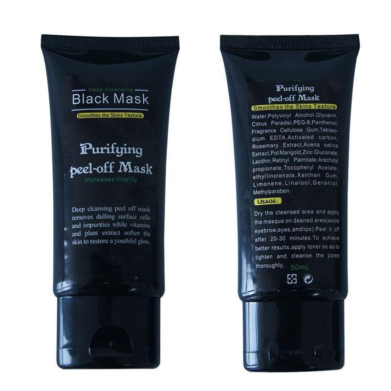 Deep Cleansing Black Mask Purifying Peel-Off Mask - Living Chic