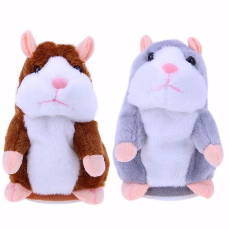 Talking Hamster Plush Toy - Living Chic