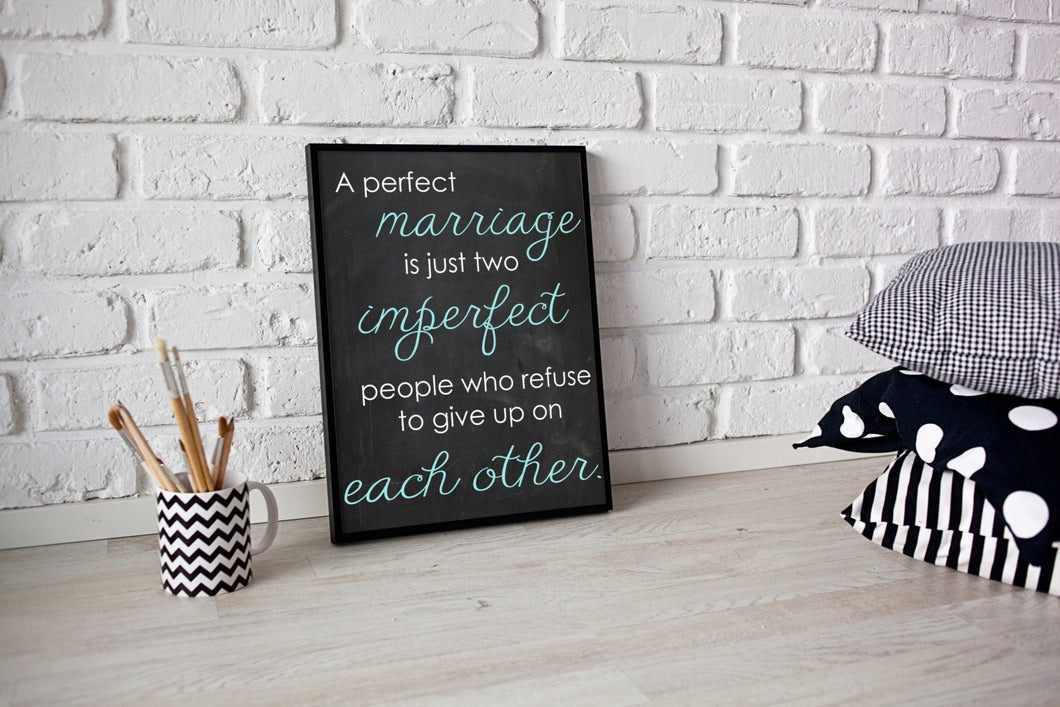 A Perfect Marriage - 8x10 Digital File