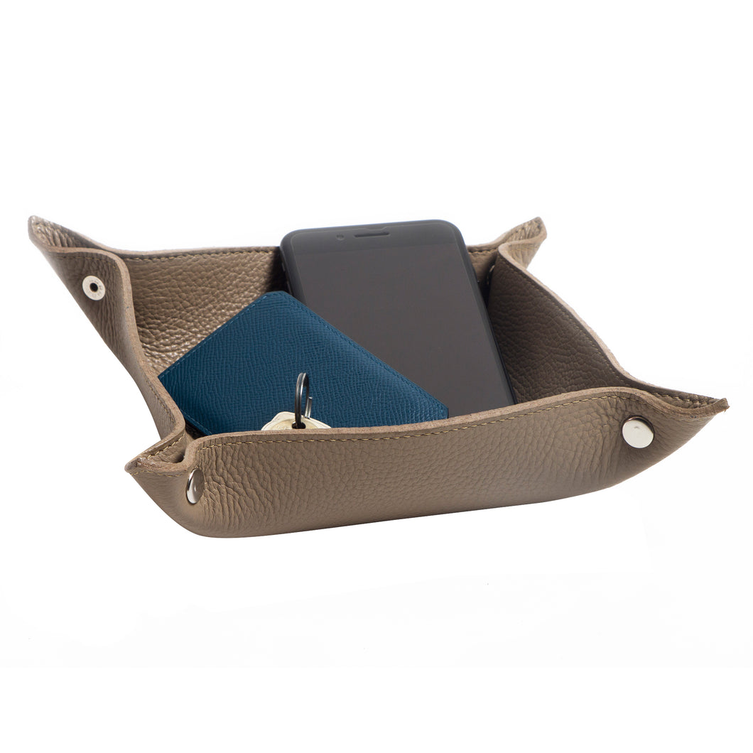 Taupe Hesta Desk Tray
