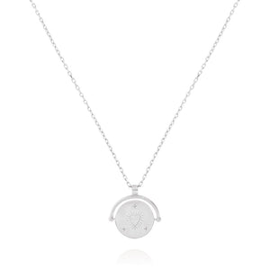 Love Amulet Charm Necklace - Sterling Silver