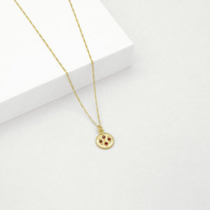 Jean Necklace - Gold Plated Sterling Silver