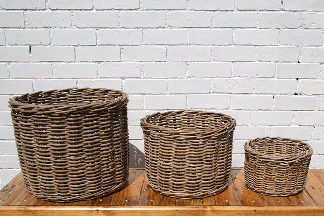 Round Rattan Basket *Local Delivery Only