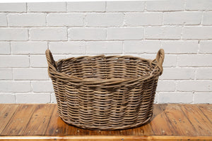 Rattan Washing Basket *Local Delivery Only