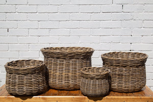 Vase Rattan Basket *Local Delivery Only