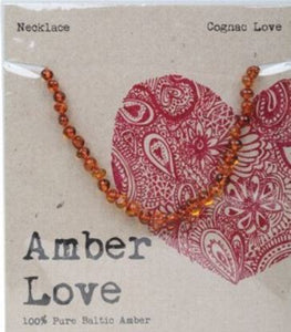 Baltic Amber Children's Amber - Cognac