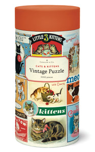 Puzzle - Cats & Kittens 1000PCE