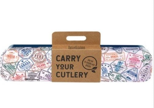 Carry Your Cutlery - Postage Stamps