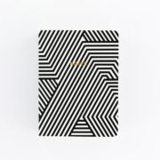 A6 Notebook - Monochrome Maze