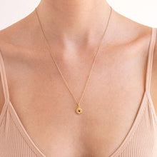 Mini Jean Necklace - Gold Plated Sterling Silver