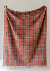 Tartan Blanket - Recycled Wool - Stewart Royal Antique