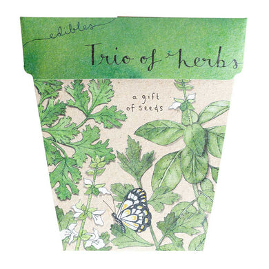 Seed Pack - Trio of Herbs