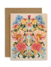 Greeting Card - Folk Floral
