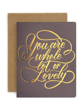 Greeting Card - Whole Lot of Lovely