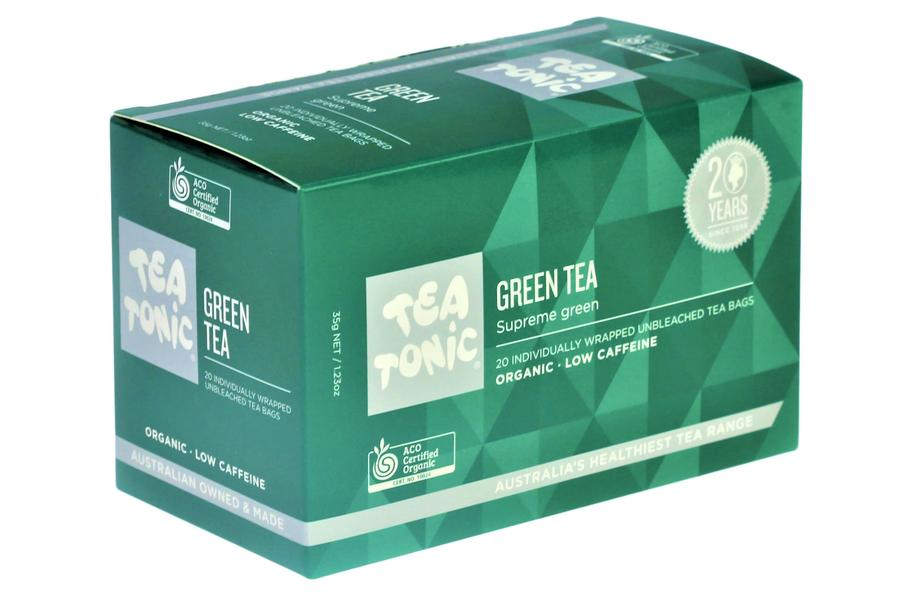 TeaTonic Green Tea Teabags