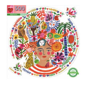 Puzzle Positivity Frida 500PC Round