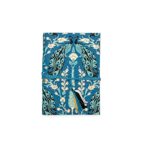 Soft bound Journal Blue Peacock