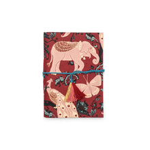 Soft bound Journal Red Garden Elephant