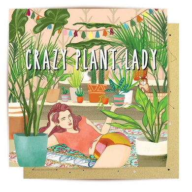 Card - Crazy Plant Lady