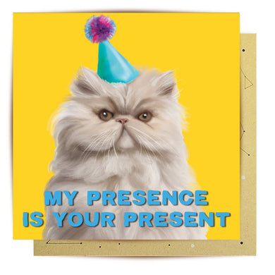 Card - My Presence Is Your Present