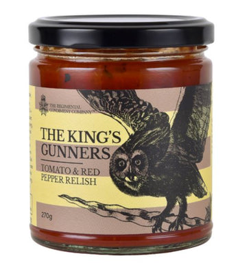 Condiment - The King's Gunners - Tomato & Red Pepper Relish