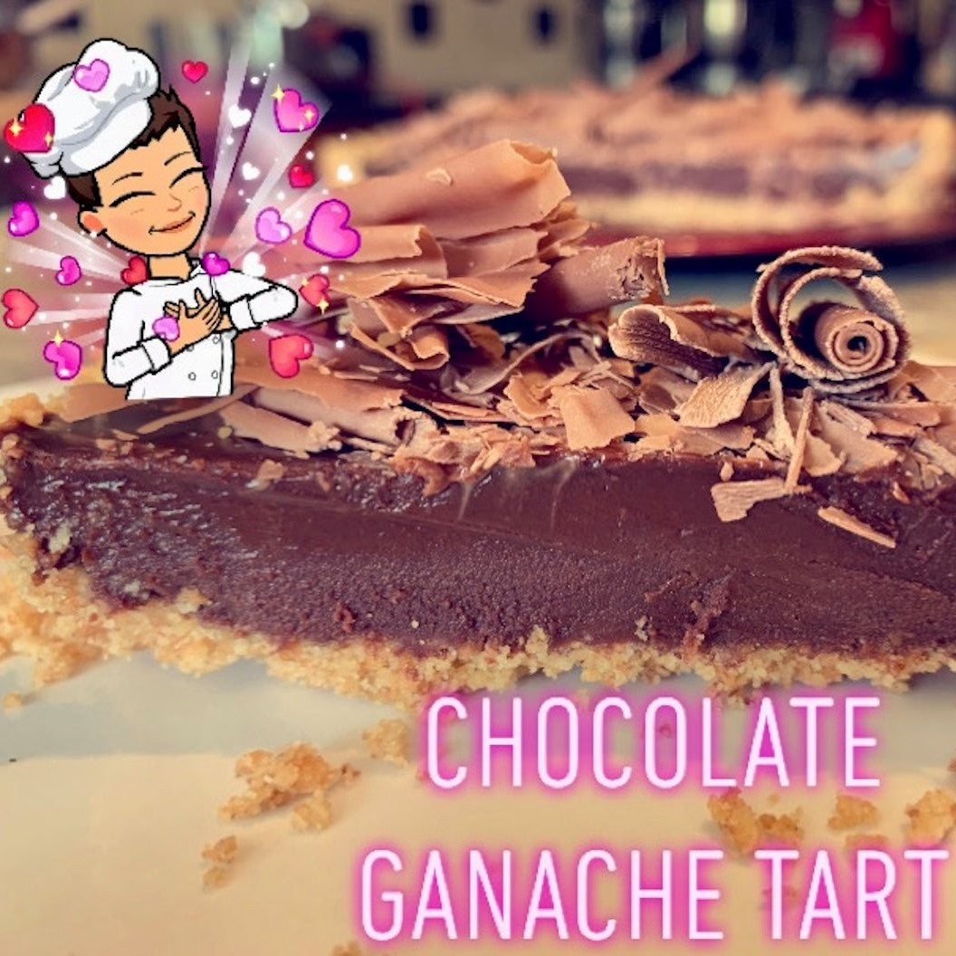 No Bake Chocolate Ganache Tart