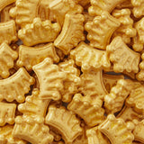 Wilton : Sprinkles - Gold Crowns - 56g