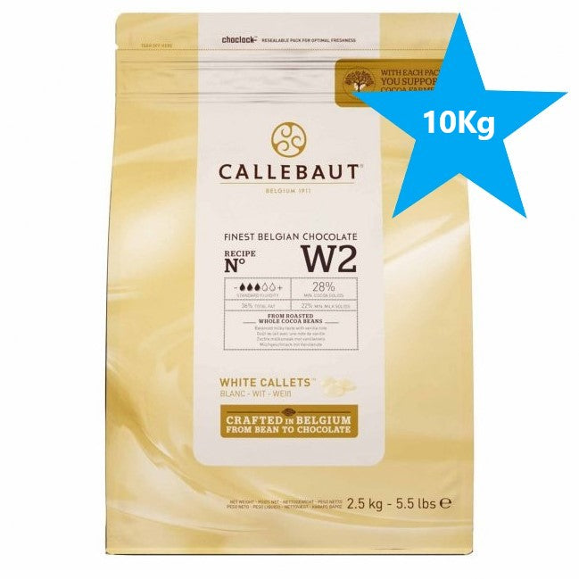 Callebaut White Chocolate 28% 10 kg (Dated 12-03-2021)