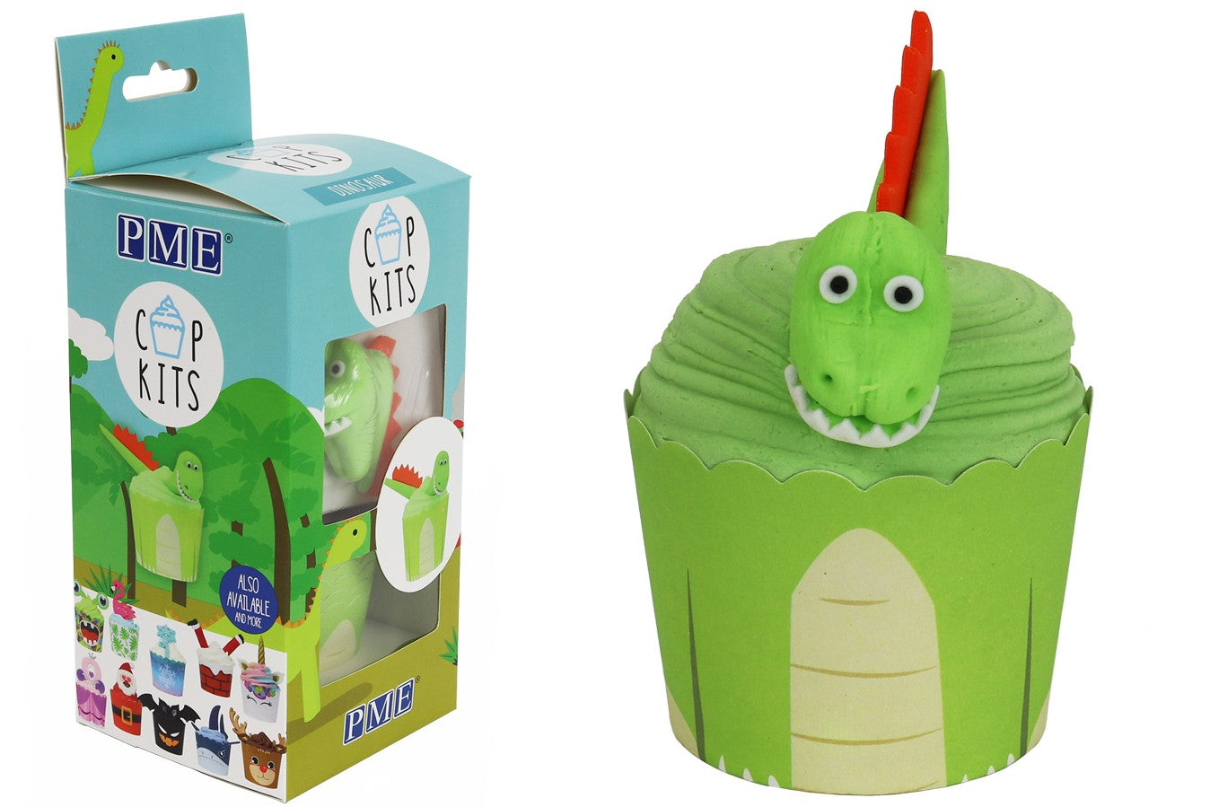 PME : CupKit - Dinosaur Cupcake Decorating Kit
