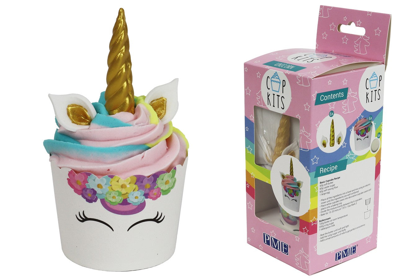 PME : CupKit - Unicorn Cupcake Decorating Kit