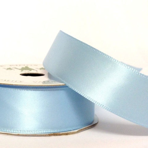 Ice Blue Coloured Ribbon - 22mm x 5m