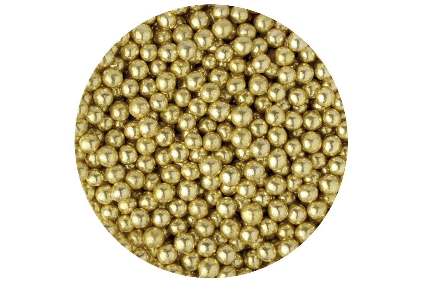 Sugar 4mm Pearls: Gold 80g