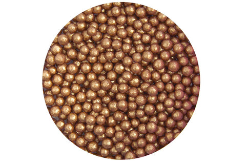 Sugar 4mm Pearls: Bronze 80g