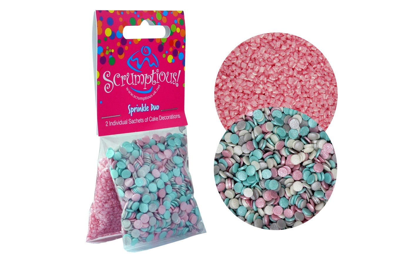 Sprinkle Duo Pack : Unicorn Confetti & Pink Sugar