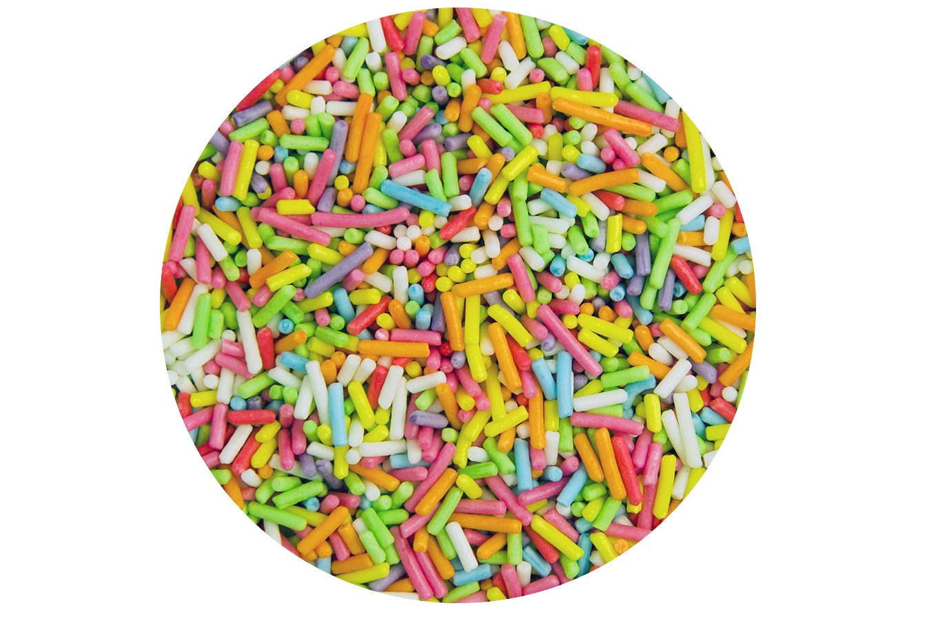 Twist Ingredients : Multi Coloured Strands 1kg