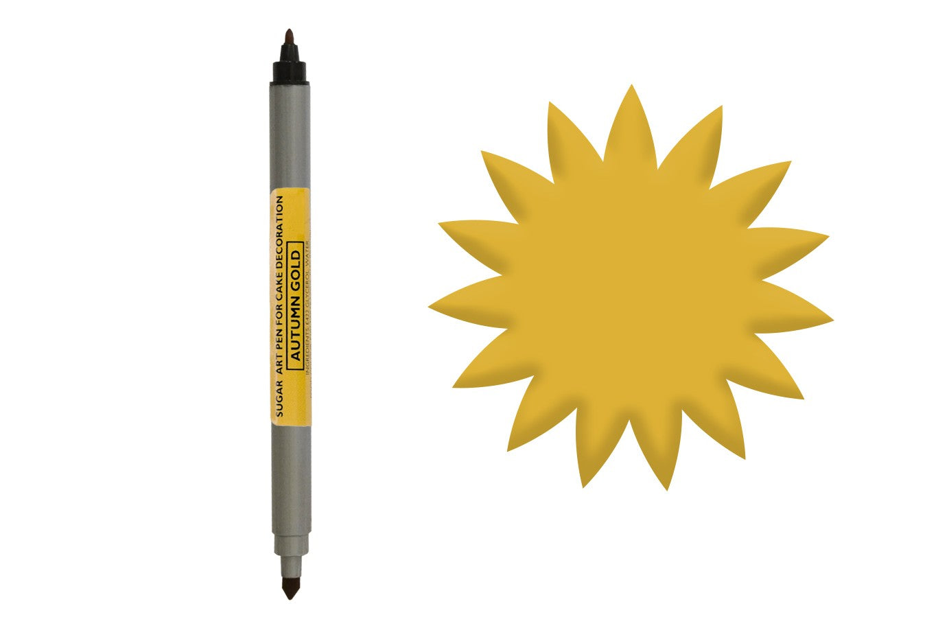 Sugarflair Art Pen - Autumn Gold