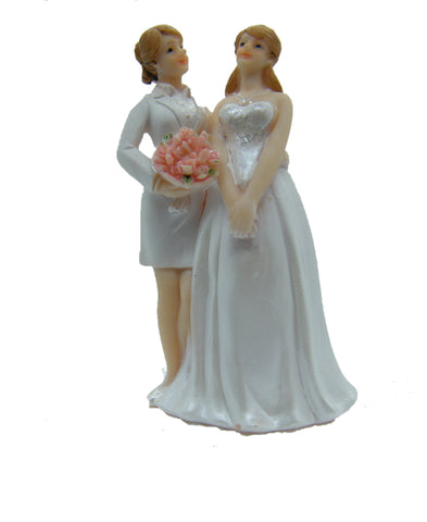 Wedding Topper 2 Women 4.5""