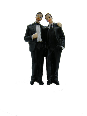 Wedding Topper 2 Men 4.5""