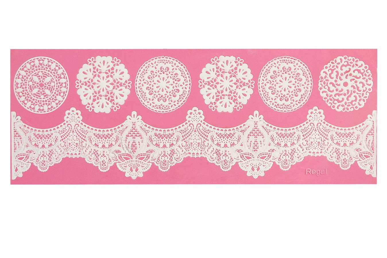 Claire Bowman Regal Cake Lace Mat - Bakeworld.ie