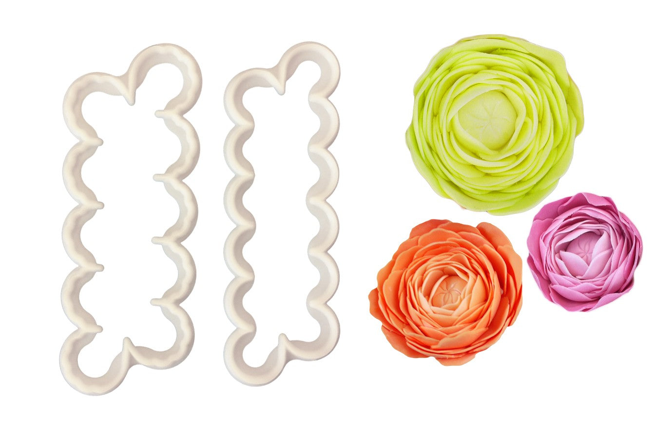 Easiest Ever Ranunculus Cutter - Set of 2