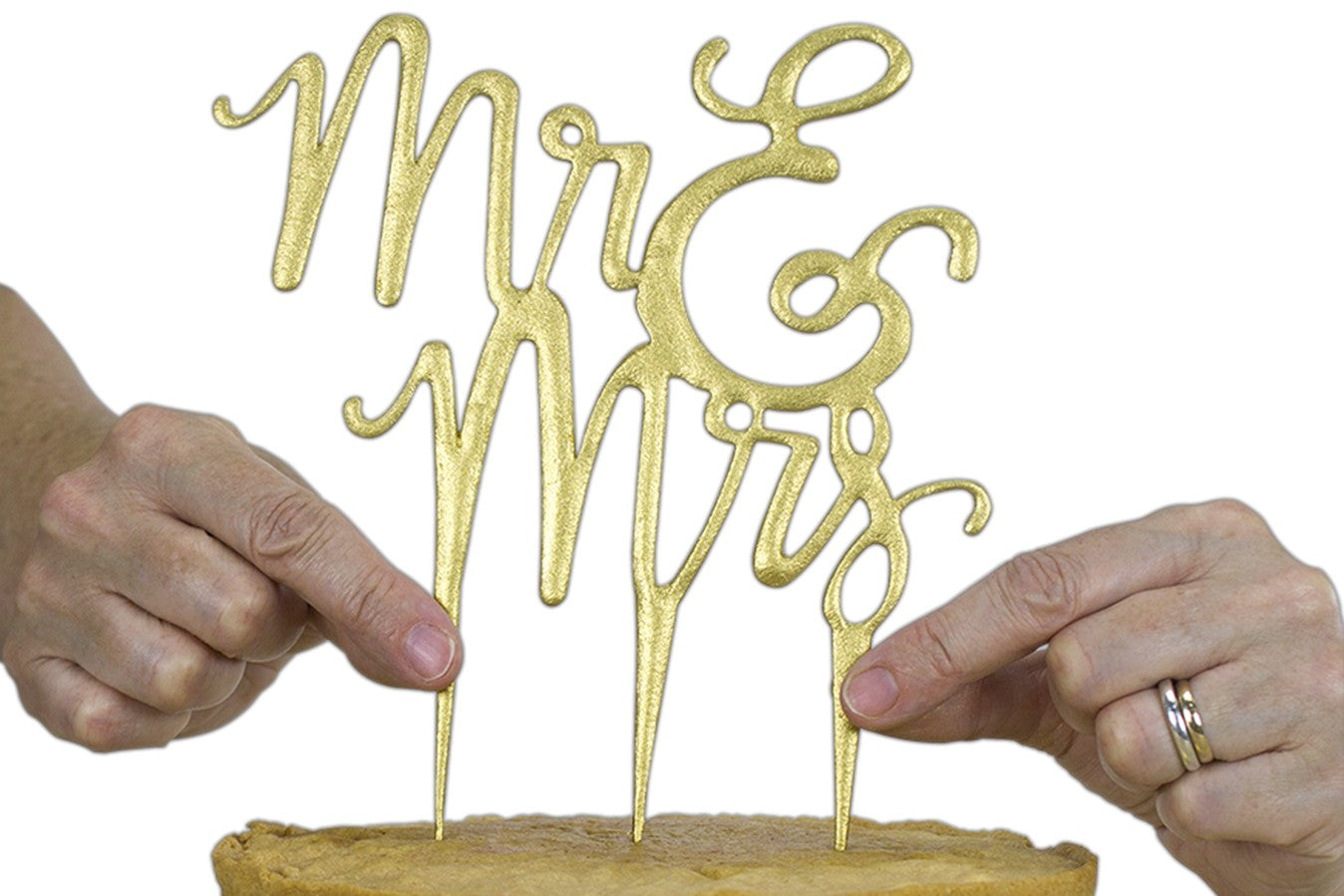 PME : Cake Topper Cutter - Mr & Mrs - Script