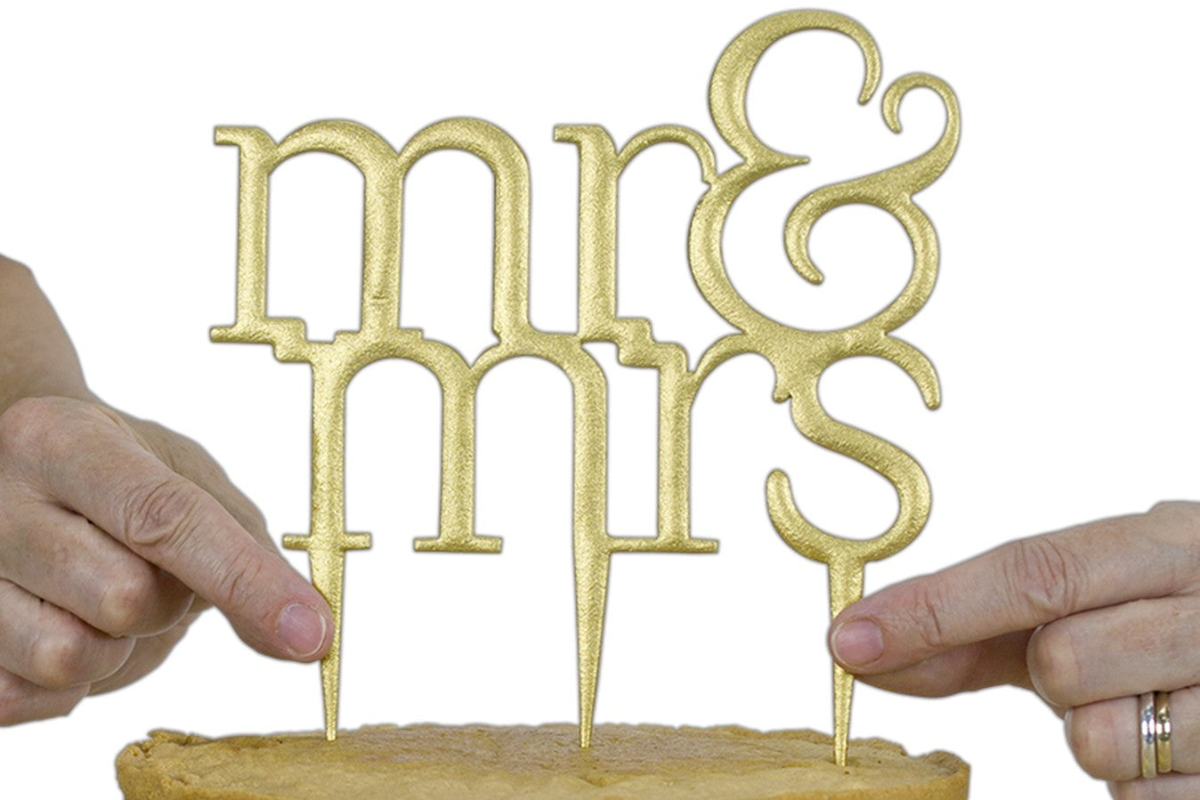 PME : Cake Topper Cutter - Mr & Mrs - Modern